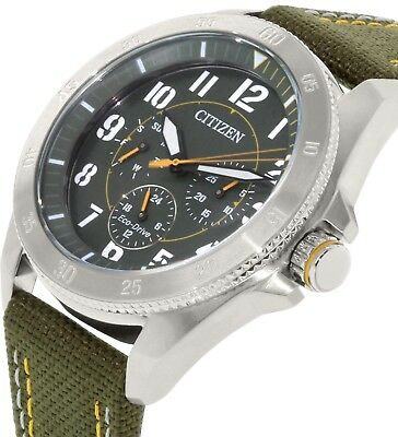 Citizen Eco-Drive BU2030-09W Mens Watch LOW STOCK BE QUICK