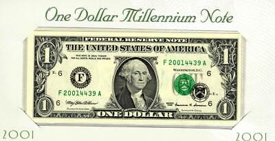 $1 1999 (( MILLENNIUM NOTE )) Federal Reserve Note* MORE CURRENCY FOR SALE