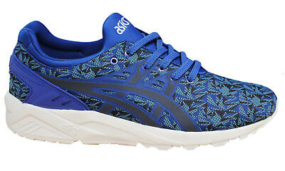 ASICS GEL KAYANO TRAINERS Evo Mens Lace Up Shoe Textile Blue H621N 4950 D6
