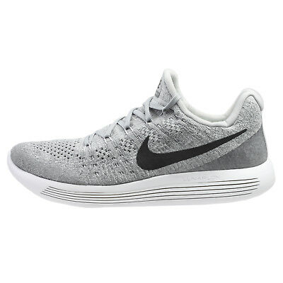 low priced 862a7 d5704 Nike Lunarepic Low Flyknit 2 Mens 863779-002 Wolf Grey Running Shoes Size  7.5