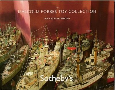 SOTHEBY'S FORBES TOY COLLECTION Boat Soldier Monopoly M-cycle Catalog 2010
