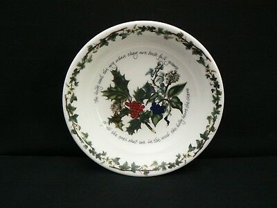 Bnwl Portmeirion Large Pasta Bowl - The Holly And The Ivy