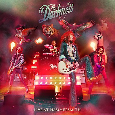 The Darkness Live At Hammersmith Cd (2018)