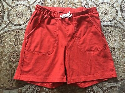 Hanna Andersson 100% Cotton Elastic Waist Drawstring Comfortable Shorts 150 12