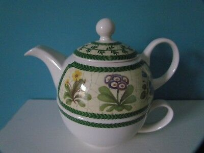 Arthur Wood  Floral Teapot For One with Cup
