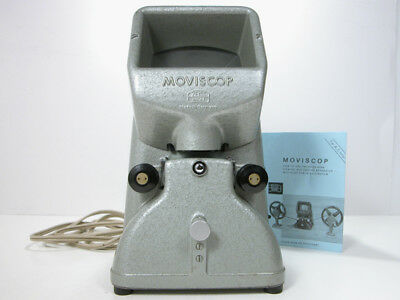 Beautiful Zeiss Moviscop 16MM FILM VIEWER With Instructions & AC Cord Works Well