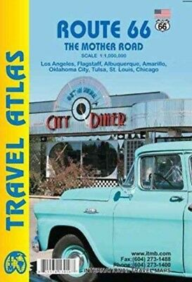 Route 66 The Mother Road atlas itm (Map), International Travel Ma...