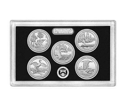 2018-S National Park Quarter SILVER Proof Set- No Box & COA