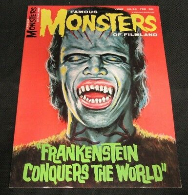 Famous Monsters of Filmland #39 (1966) Warren Pub. High Grade NM 9.4-9.6 CO334