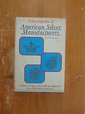 Encyclopedia of American Silver Manufacturers by Dorothy Rainwater (1975, HC/DJ)