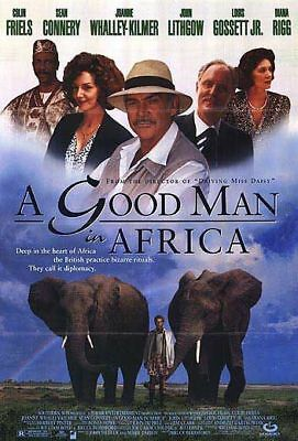 A Good Man in Africa original double sided movie poster 27 x 40