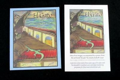 Cat 'El Gato' Book by Sandra Rokoff Lizut Artist Illustrated