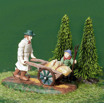 Dept 56 Dickens Village - Taking Grain To The Mill 58545 Brand New In Box