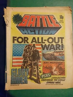 BATTLE ACTION Comic 26th May 1979