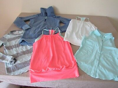 Lot of Ivivva by Lululemon Girls Clothing Size 8  (5 items)