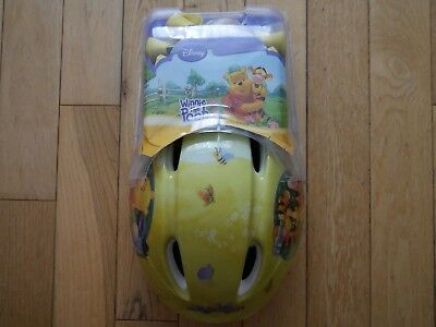 Safety Gear Set Cycling Helmet Knee And Elbow Pads Winnie The Pooh Bnib