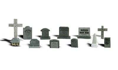 Woodland Scenics A2726 O Train Figures Tombstones