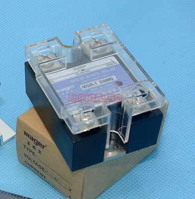 Mager SSR 90A Solid State Relay DC IN 480VAC OUT x1pcs