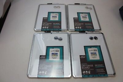 Lot of 4 The board dudes Magnetic Dry Erase Boards NEW easy mount