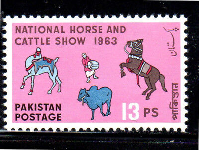 Pakistan #175  1963  National Horse & Cattle Show   Mint  Vf Nh  O.g