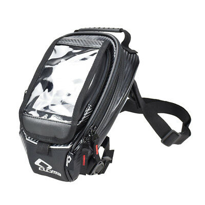 Black Motorcycle Oil Fuel Tank Bag Magnetic Riding Waterproof Bag