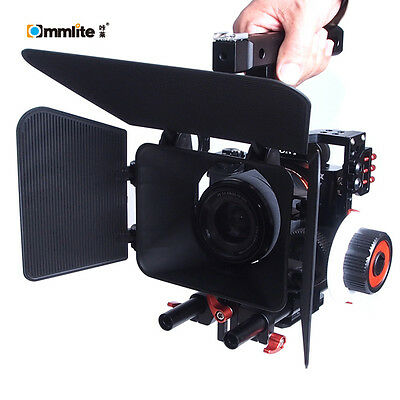 Commlite Comstar K5 Video Cage Stabilizer f Sony NEX A7II A7 A7S ii A6000 Camera