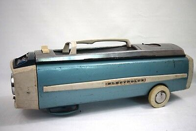 Vintage Electrolux 1205 CANISTER VACUUM CLEANER - Blue Teal- Genuine Lux *TESTED