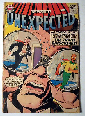 Tales of the Unexpected #87 Silver Age DC Comic Book 1965 GD+