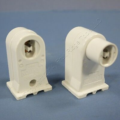Leviton HO T8 T12 Vertical Plunger Fixed End Fluorescent Lamp Holder 13556 13557