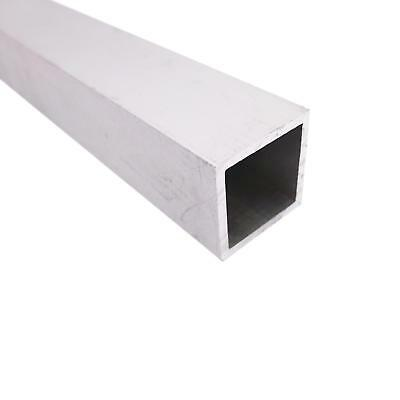 "US Stock 20mm*20mm 6063 Aluminum Metal Square Tube 3mm Wall  9.8"" Length"