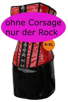 Hot Lack mini Rock Dress schwarz Minirock sexy Wäschebeutel