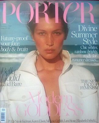 Porter Magazine - Summer 2017 - Bella  Hadid  Cover Plus Feature / Pictures