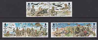 ISLE OF MAN  Parachute Regiment, MNH Set of Stamps, SG 502-07