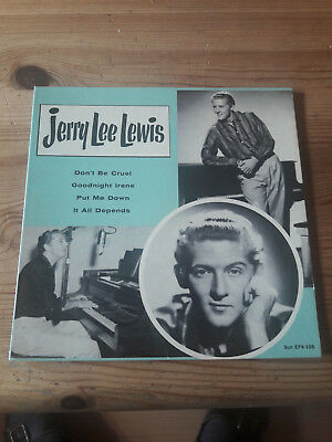 jerry lee lewis-sun ep cover only top condition usa