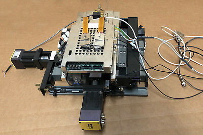 Dover Motion XY Precision Linear Stage Assembly Parker CM231AE Servo Drive