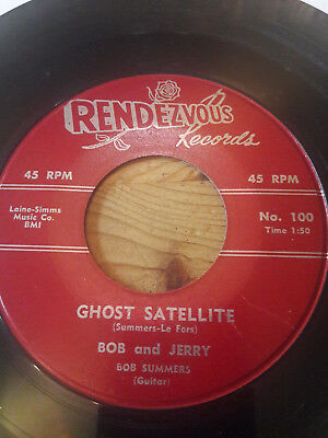 bob and jerry-ghost satellite-space instro rocker-