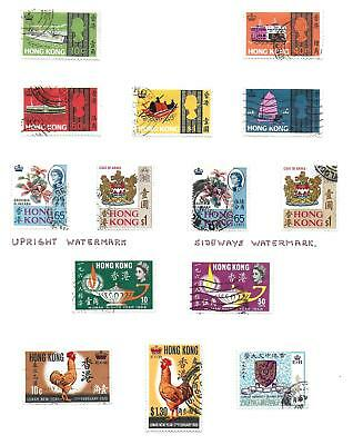 Hong Kong stamps Collection of 14 stamps HIGH VALUE!