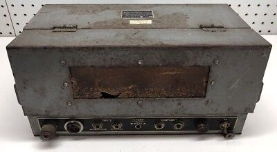 Vintage AIR KING SOUND RECORDER IC/VRW-7 U.S. Navy For Parts Repair