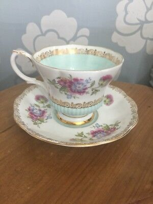 Rare Vintage Royal Albert Reverie Series China Cabinet Cup & Saucer Stunning