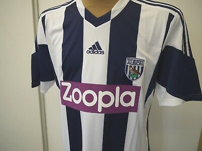 Adidas Performance Trikot West Bromwitch Albion Gr. L Home Jersey Climacool NEU