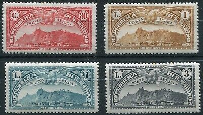 1931 - San Marino - Air Selection Of Four, Mint
