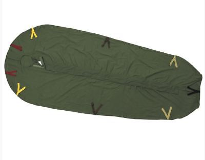 NEW Army Issue Cotton Sleeping Bag Liner for LARGE Modular Sleeping Bag System
