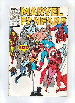 MARVEL FANFARE No 45  ALL PIN-UP ISSUE!!!