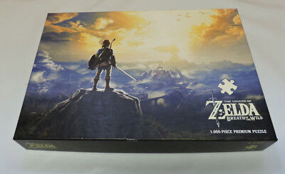 "The Legend of Zelda Breath of the Wild Puzzle 1000 Pieces ""Links Quest"""