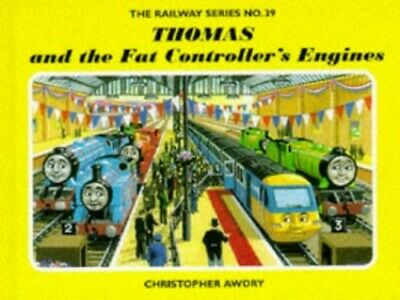 Thomas and the Fat Controller's Engines (Railw... by Awdry, Christopher Hardback