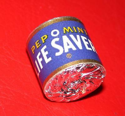 Vintage 1960's LIFE SAVERS Candy BRANIFF AIRWAYS Sealed Sample ROLL PEP-O-MINT