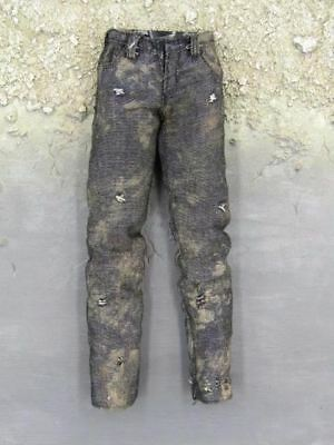 1/6 Scale Rick Grimes The Walking Dead Official Weathered Jeans