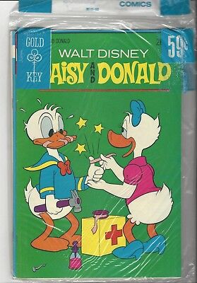 Sealed Gold Key 3 Pack! Nm 9.4! Daisy & Donald! Tom & Jerry! Andy Panda!
