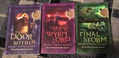 Complete Set The Door Within Trilogy, Books 1-3,Rise of Wyrm Lord,Final Storm
