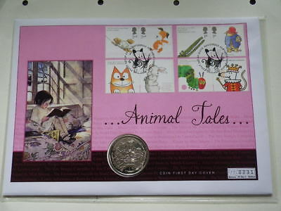 Isle of Man 2006  One Crown. Animal Tales Coin - Stamp Cover...No.231